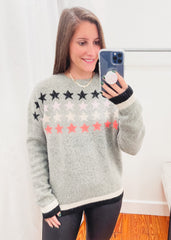 Stars Stripe Sweater