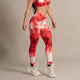 Leggings Red-White 006