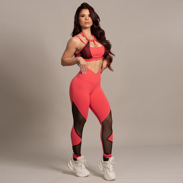 Leggings Salmon 004