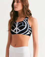 Embrace Your Inner HIPPIE Women's Seamless Sports Bra