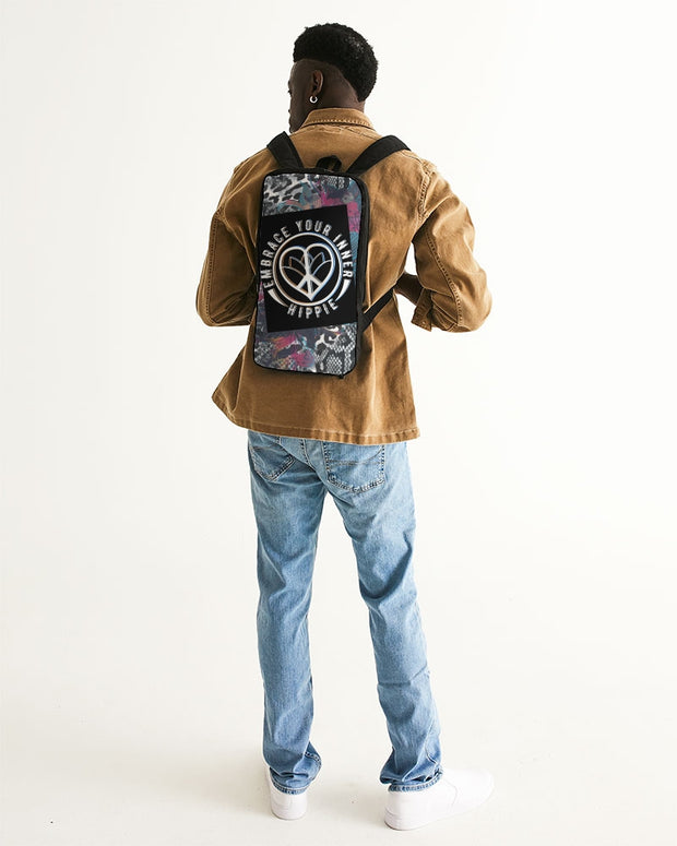 Embrace Your Inner HIPPIE Slim Tech Backpack
