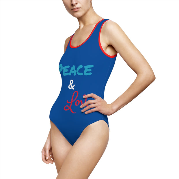Women's Classic One-Piece Swimsuit