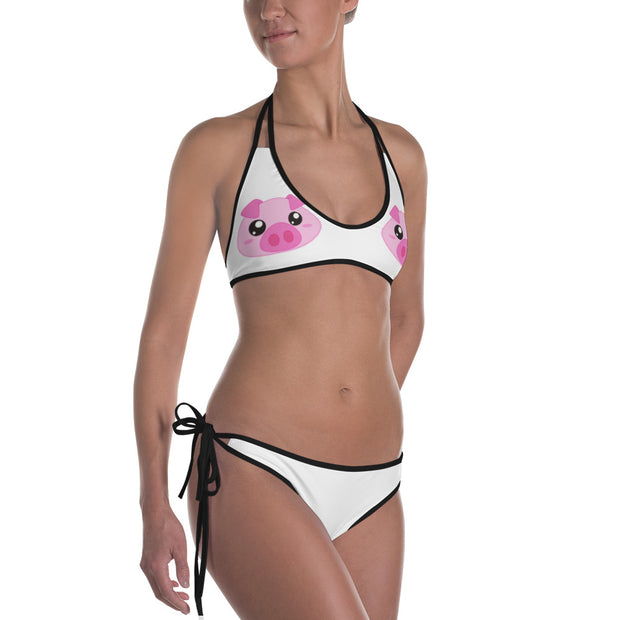 Narvie Barbie Peace & Piglet Bikini (Reversible)