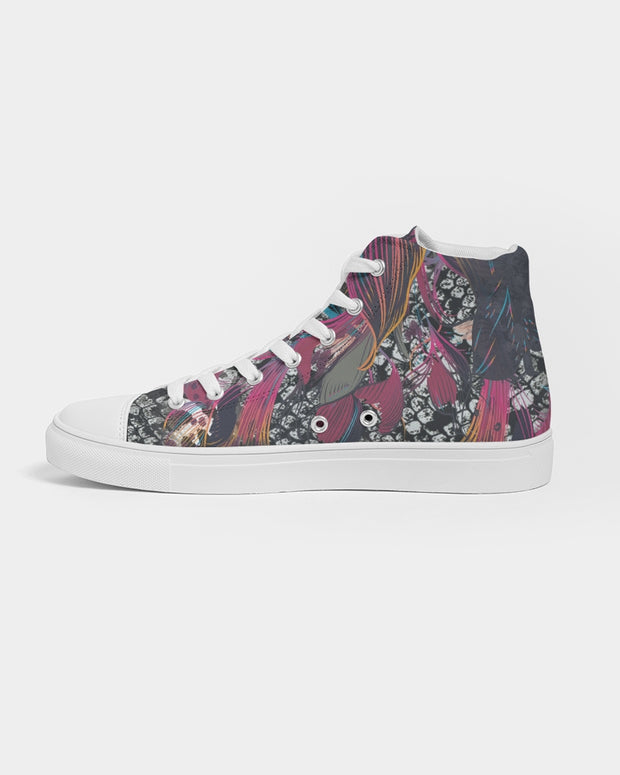 Spiritual Connection Women's Hightop Canvas Shoe