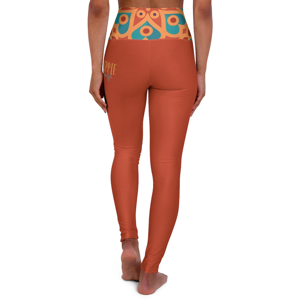 bronzeHIPPIE Lifestyle High Waisted Yoga Leggings