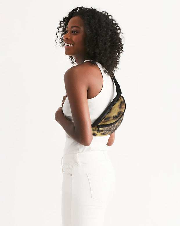 Cultivated Skin Crossbody Sling Bag