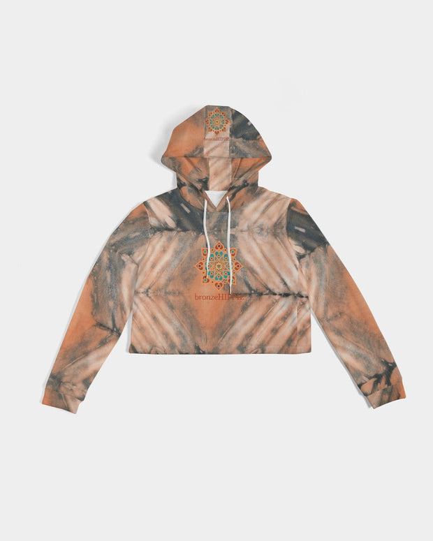 The Awakening Women's Cropped Hoodie