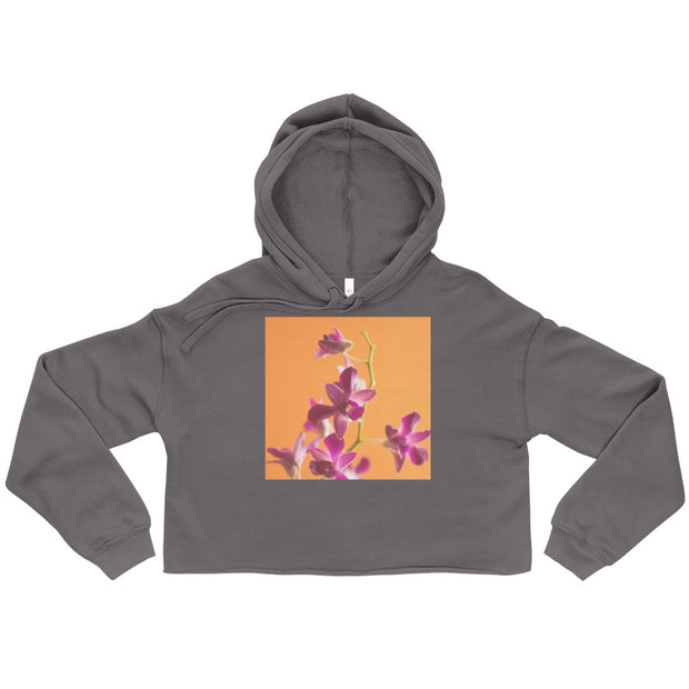 Colorful S.O.U.L. Flower Crop Hoodie