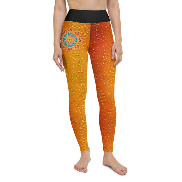 bronzeHIPPIE Logo Premium High Waist Drip Leggings