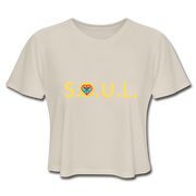S.O.U.L. Tribe  Cropped T-Shirt - dust