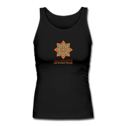 bronzeHIPPIE Logo Long Fitted Tank - black