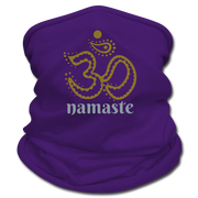 Om Namaste Multifunctional Scarf - purple