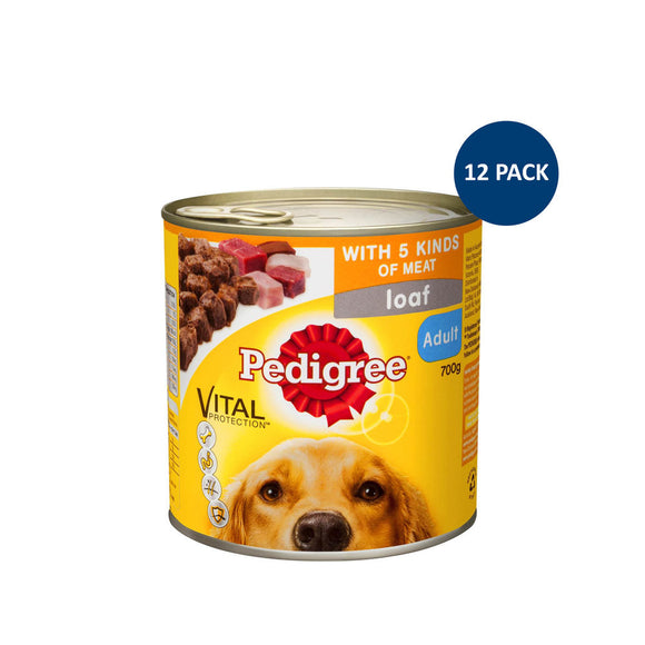 Pedigree Pantry Pack 700g x 12
