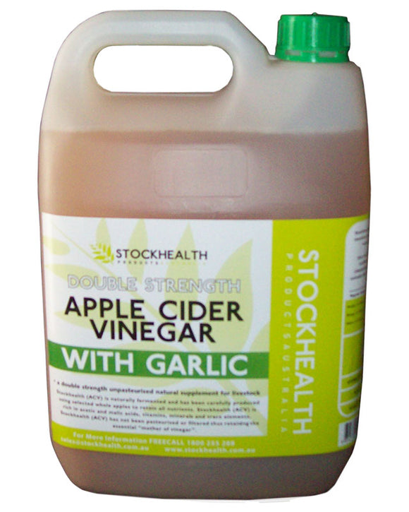 Apple Cider Vinegar with Garlic