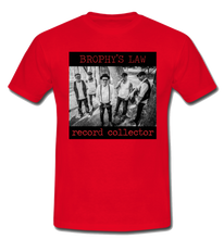 Load image into Gallery viewer, Red Record Collector T-shirt