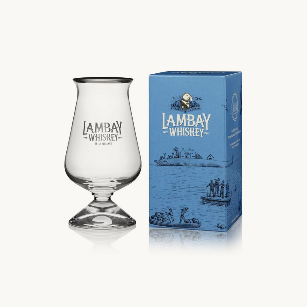 LAMBAY TUATH WHISKEY GLASS & GIFT BOX - LAMBAY WHISKEY