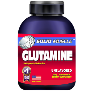 Solid Muscle - Glutamine  325 grams
