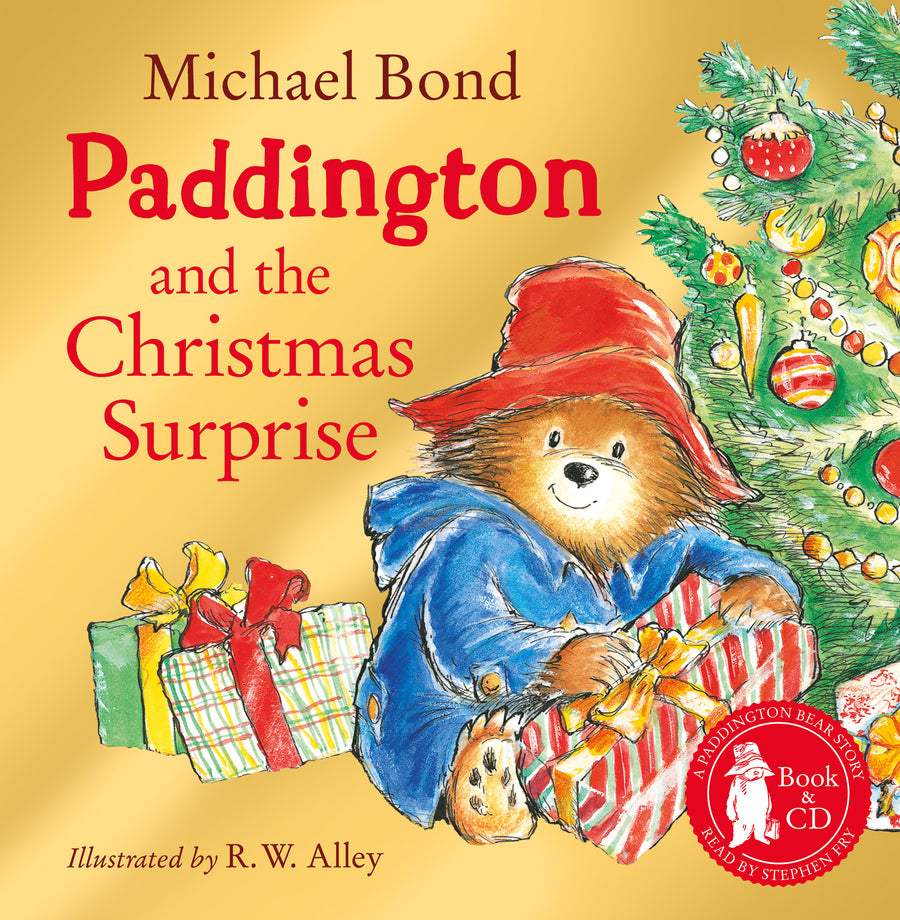 Paddington and The Christmas Surprise Book + CD