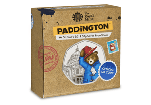 Paddington Silver Proof Coin - St Paul's