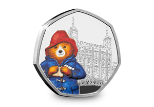 Paddington Silver Proof Coin - Tower of London