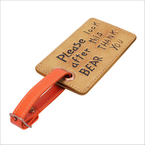 Luggage Tag - Please Look After This Bear