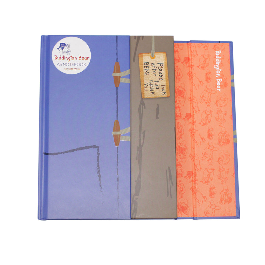 Paddington Bear A5 Notebook - Duffle Coat
