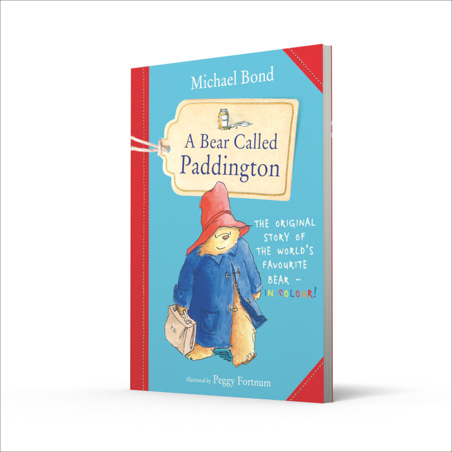 A Bear Called Paddington' coloured illustration book