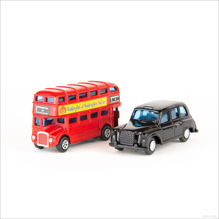 Exclusive London Bus and Black Cab