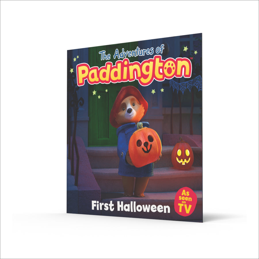 First Halloween' (paperback) TV book
