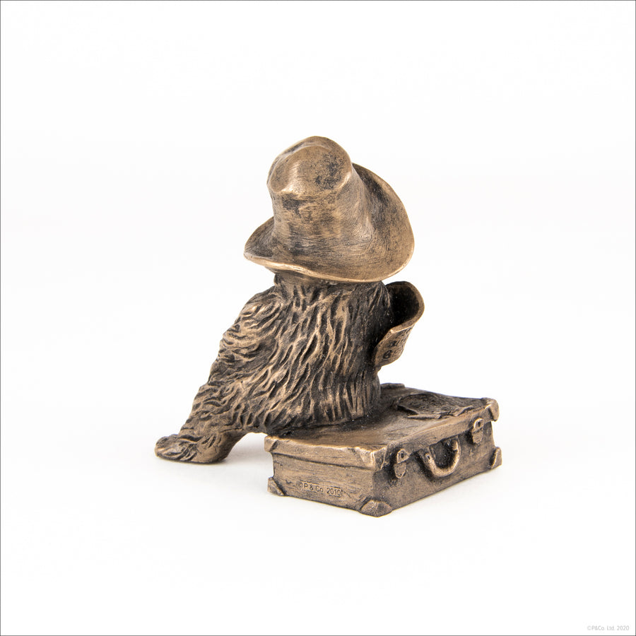 Paddington Bronze Figurine Replica