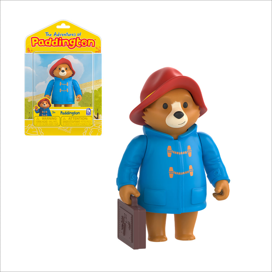 Paddington Travelling (TV) Collectible Figure - 7cm