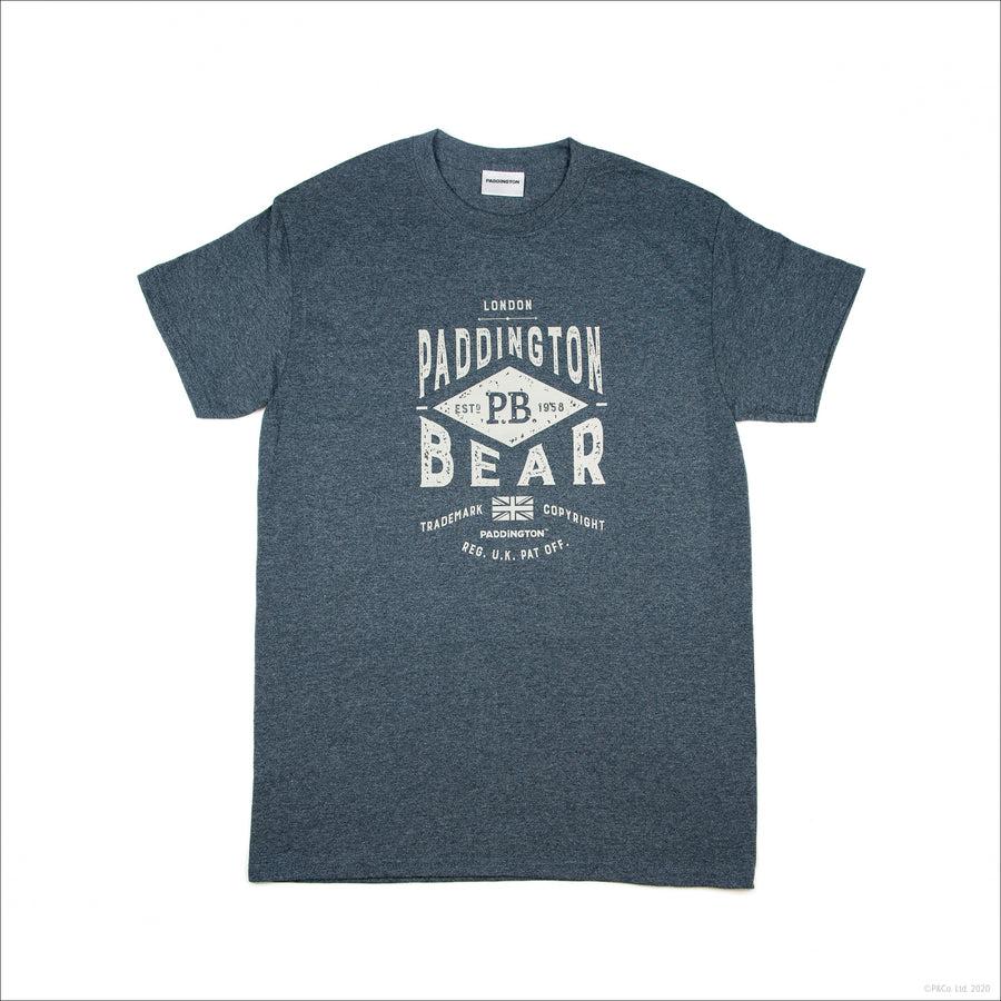 Paddington Adult T-Shirt - Grey