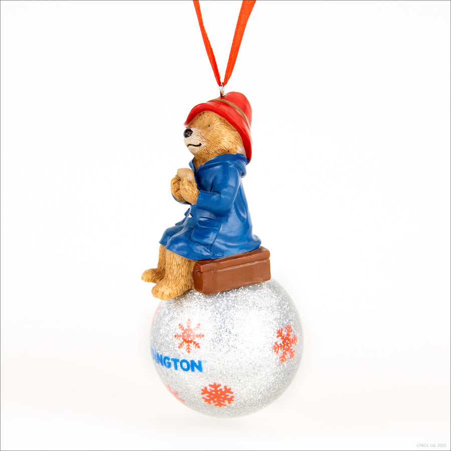 Paddington Christmas Ornament - on Christmas Bauble