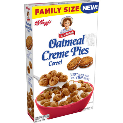 Little Debbie Oatmeal Creme Pie Cereal