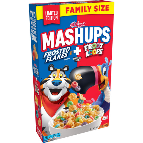 Frosted Flakes + Froot Loops Mashups