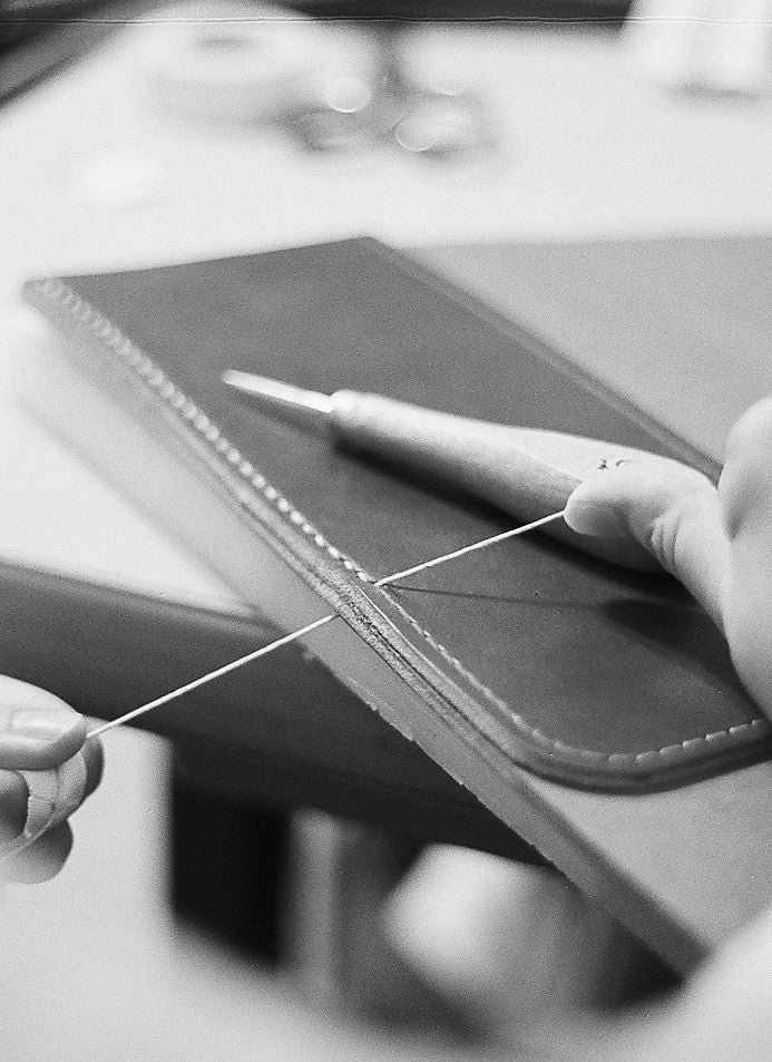 Leather Hand Stitching Workshop