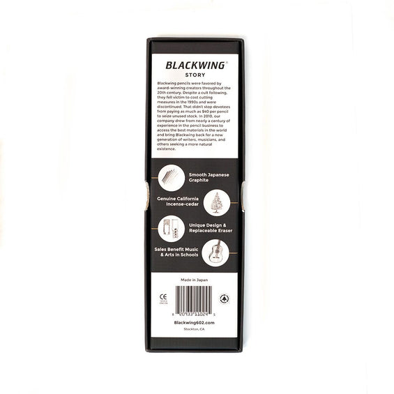 Blackwing 602 Pencils - 12 Count (Firm)