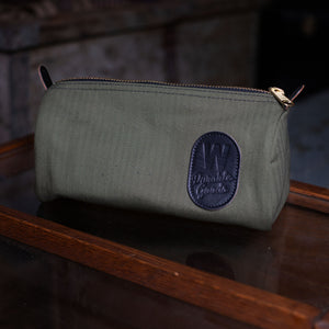 Dopp Kit – Herringbone Twill