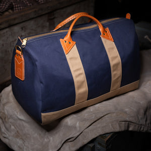 Duffel Bag – Navy/Khaki