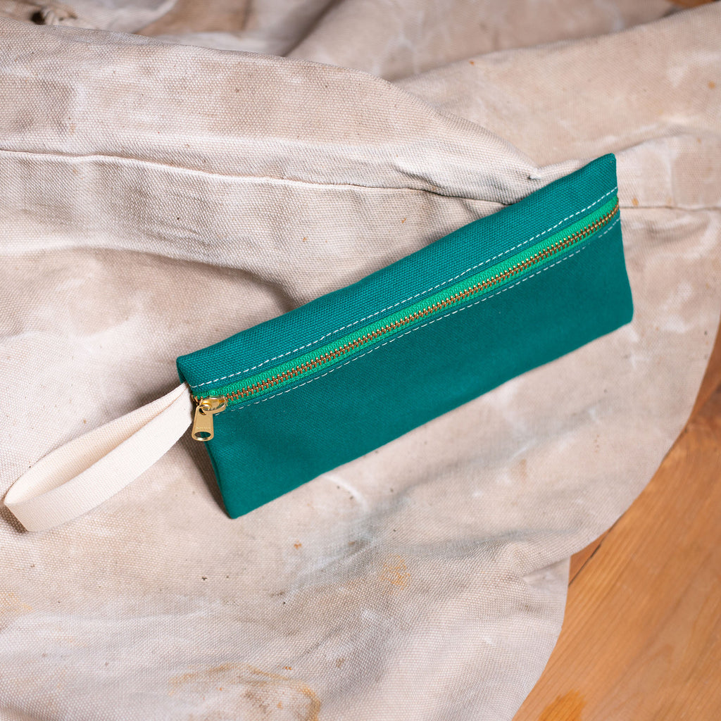 Pencil Bag – Emerald Green
