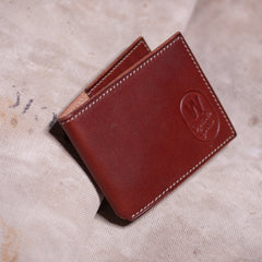Folding Card Case – Brown
