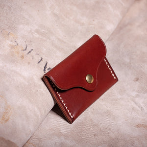 Two-Pocket Wallet – Brown