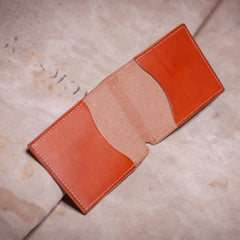 Folding Card Case – Tan