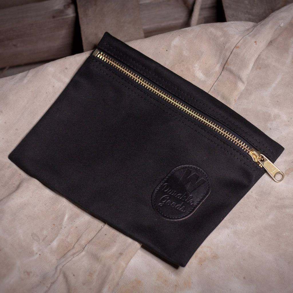 Zipper Bag – Black
