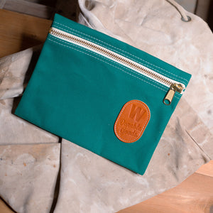 Zipper Bag – Emerald Green