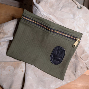 Zipper Bag – Herringbone Twill