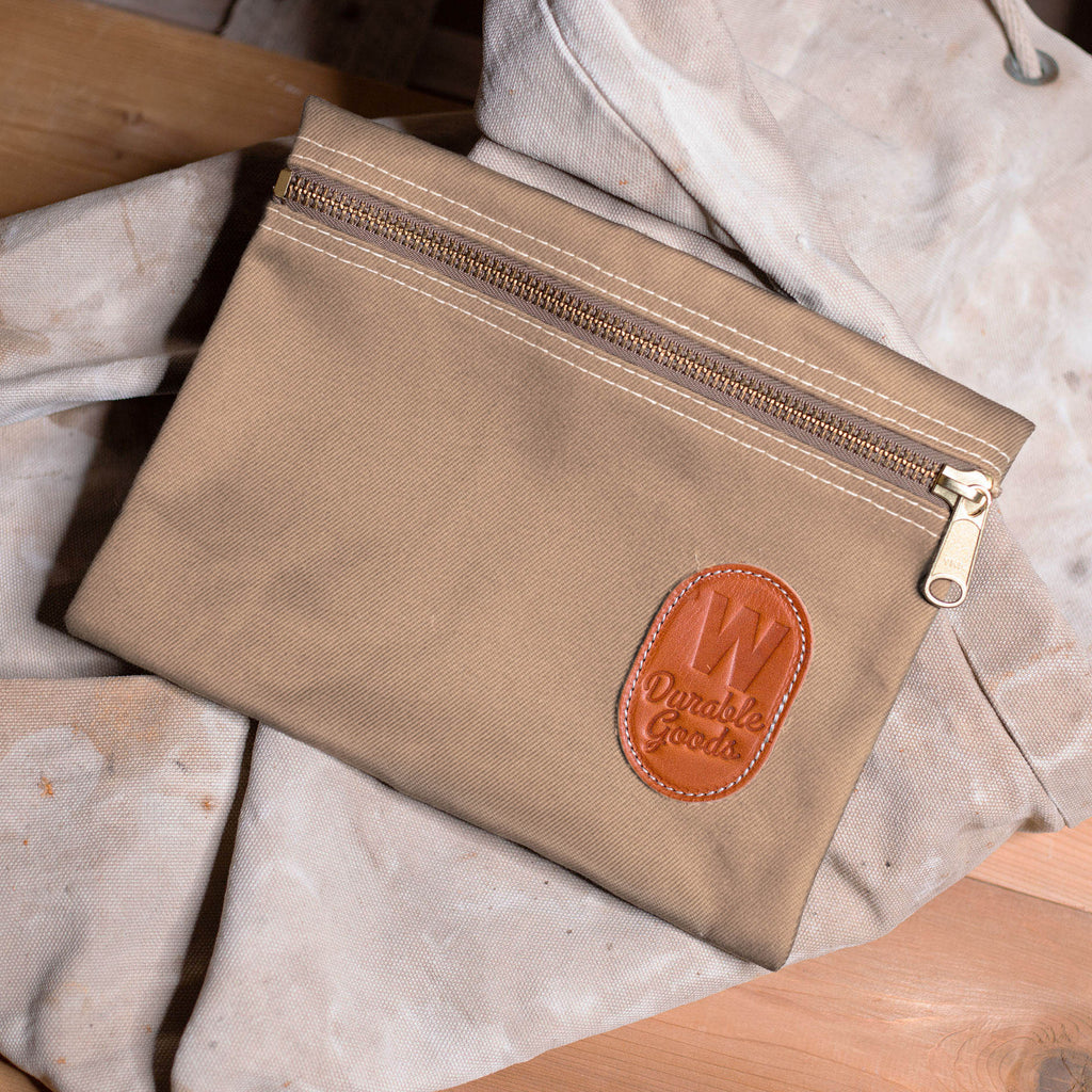 Zipper Bag – Khaki