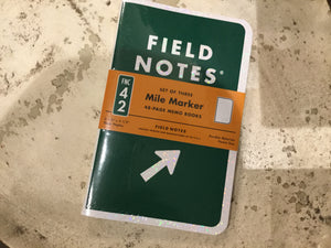 Field Notes - Mile Marker
