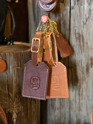 Luggage Tag – Tan