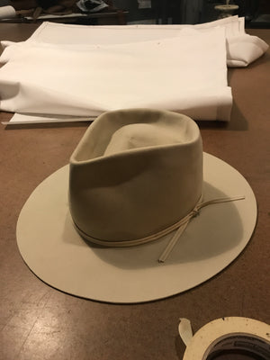 Stetson 7 1/2 Silver Belly